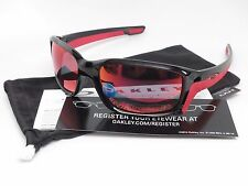 Oakley Straightlink OO9331-08 Polished Black-Torch Iridium Polarized Sunglasses