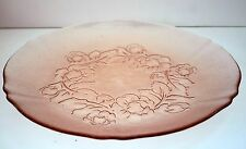 Arcoroc France Rosa Rosaline Pink Glass diner plate ~ 8 available