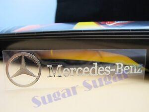 MERCEDES-BENZ Nickel Alloy Car Emblem Decal Sticker