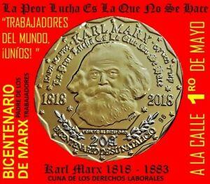 KARL MARX ANNIVERSARY 150 GRITO DE LARES 20 ALBIZU Puerto Rico 1 Mayo SOCIALISTA