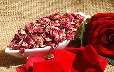 100g-1000g Rosenblütenblätter rot ganz Rosen getrocknet Rosenblätter Tee Deko