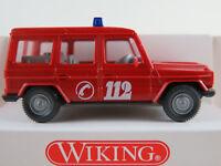 """Wiking 60901 Mercedes-Benz 230 GE (1982-1992) """"FEUERWEHR / VRW"""" 1:87/H0 NEU/OVP"""