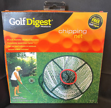 "New Golf Digest 24"" Chipping Net Indoor/Outdoor Practice~Open Box-Factory Sealed"