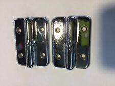 Lift off hinge / Pintel Hinge Chrome 75mm x 55mm with 6.3 mm pin  X 2 (1 pair)