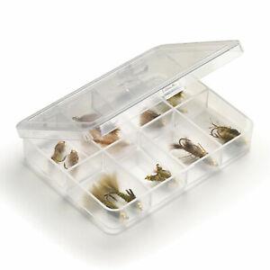 Umpqua Myran 1080 Clear Fly Fishing Box with Eight Compartments