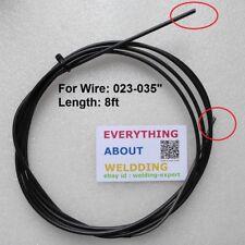"""Solar Mig Welder Welding Gun Liner .035/"""" and .045/"""" Parts 4331 2175"""