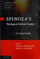 Spinoza's Theological-Political Treatise : A Critical Guide, Paperback by Mel...