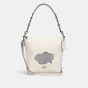 Coach X Disney $350 NWT DUMBO Mini ABBY Duffle Bag Purse 91123