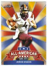 2017 Leaf Draft Football All-American Gold #AA-12 Jerod Evans