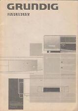 Videoregistratore Grundig Gv 4092 SV-MANUALE DI ISTRUZIONI-b1959