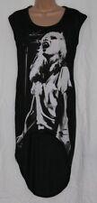 DEBBIE HARRY LONG TOP Sizes 6 to 10 NEW Blondie Punk Rock Sleeveless T Shirt