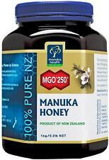 100% Pure New Zealand Manuka Health MGO 250+ Manuka Honey 1kg  FREE SHIPPING