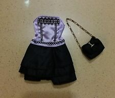 Blythe Used 2 pcs x Original  Outfit & Accessory Dress + Bag