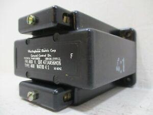 Westinghouse 4714A56H06 Type 468 Potential Transformer PRI 480V Ratio 4:1 10kV