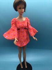 0000000Vintage Barbie Doll Clothes - Mod Era 1113 Talking Pj Doll Original Dress