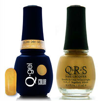 Gel & Polish QRS Beauty Combo MAT240 24kt COMBO Gold Color