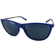 Armani Exchange Mens AX4047S Fashion Sunglasses, Matte Electric Blue/Blue