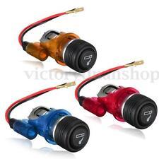12V 120W Car Motorcycle Motorbike Cigarette Lighter Power Socket Plug Outlet