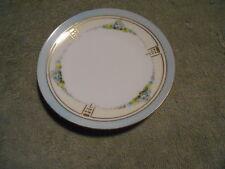 Vintage Plate - H & C Bavaria - Blue Flowers - 5 7/8''