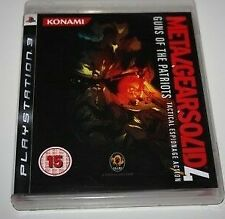 METAL GEAR SOLID 4: Guns Of The Patriots voor Sony Playstation 3 PS3