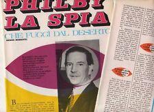 T18 Clipping-Ritaglio del 1968 Harold Adrian Russel Philby la spia che fuggì...