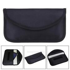 Black Cell Phone RF Signal Shielding Blocker Bag Case Pouch Anti Radiation for