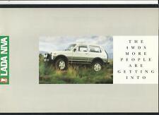 LADA-VAZ Niva 4x4 e Niva Cosacco 4x4 Plus Accessori per il 1989 OTTOBRE 1988