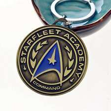 Star Trek Shield Metal Keychain Pendant Key Chain Key Ring Gift