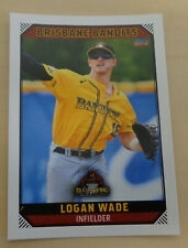 Logan Wade 2018/19 Australian Baseball League card - Brisbane Bandits