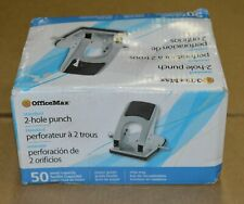 Officemax Standard 2 Hole Punch Om99262 50 Sheet Capacity