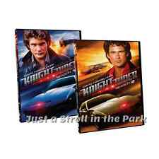 Knight Rider TV Series Complete Seasons 1 & 2 NEW Retro Cover Art Box/DVD Set(s)