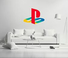 Playstation Logo Sony VideoGames Wall Decal Decor For Car Home X-Large
