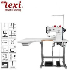 TEXI machine à coudre industrielle - Bras libre - Grande Table - Neuf