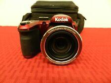 Kodak AZ401 PixPro Digital Camera-16MP 24MM  40X Optical Zoom  RED