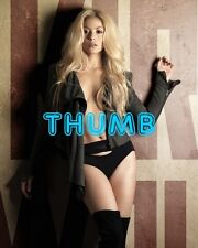 Shakira - 10x8 inch Photograph #001 in Black Pants & Over the Knee Boots