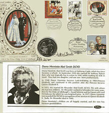 20 NOVEMBER 1997 GOLDEN WEDDING HAND SIGNED HENRIETTE SMITH BENHAM COIN COVER SH