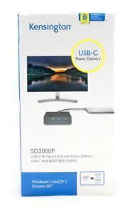 Kensington USB-C Nano Docking Station SD2000P BRAND NEW