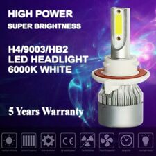 H13 LED headlight bulbs conversion kit high low beam xenon HID super white 6000K