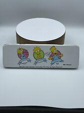 Vintage Simpsons pencil Tin case Lisa, Bart, & Maggie