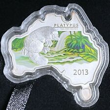 2013 Australia Map Shaped Series Platypus 1oz Silver Coin ! Clearance sale !