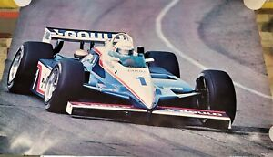 Indy Car Poster Rick Mears Penske PC10 1982 24 X 36