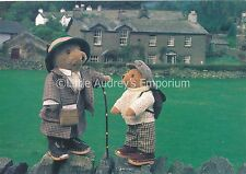 Teddy Bear Postcard - Lakeland Bears L47 Beatrix Bear and friend at Near Sawrey