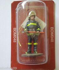 Fireman firedress Santiago de Chile 1992 Plomo lead 1:32 Del Prado BOM048
