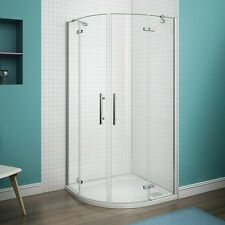 Bathroom Quadrant Shower Enclosures Frameless Pivot Door 6mm Walk in Cubicle 900x900mm