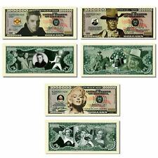 MARILYN  MONROE Novelty Dollar Bill  comes In a Free Soft Polly Sleeve