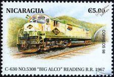 "Ferrocarril de lectura ""Big Alco"" siglo clase C-630 No.5308 Sello de tren (EE. UU.)"