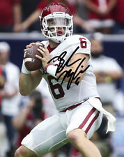 ** BAKER MAYFIELD SIGNED PHOTO 8X10 RP AUTOGRAPHED OKLAHOMA SOONERS HEISMAN