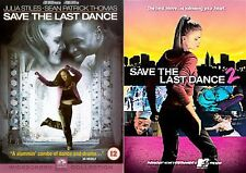 Save The Last Dance Part 1 2 Julia Stiles, Sean Patrick Thomas NEW UK R2 DVD
