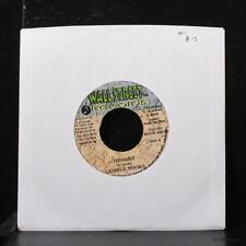 "George Nooks - Tonight 7"" Mint- Vinyl 45 Wallstreet Jamaica 2001"