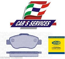 PATTINI FRENI MARELLI PF0236 FIAT PANDA 1.3 MULTIJET PASTIGLIE PASTICCHE AUTO